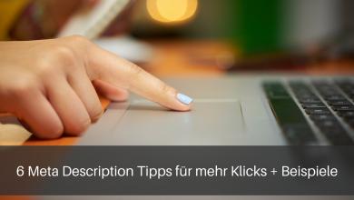 Meta Description Tipps