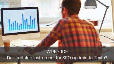 WDF*IDF Seo Texte